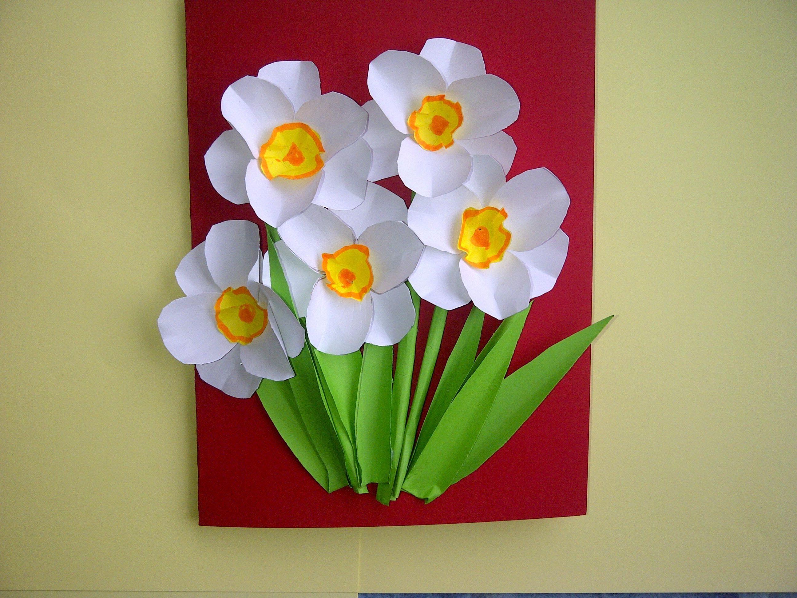 Schöne Geschenke  Ideen Schöne Geschenke zum Muttertag 3D Blumenkarten