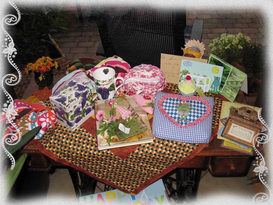 Schöne Geschenke  So viele schöne Geschenke Stickbär Blog