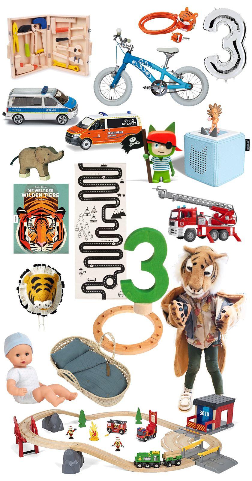 Schöne Geschenke  Schöne Geschenk Ideen zum dritten Geburtstag für einen