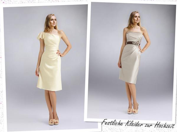 Schöne Kleider Für Hochzeit  Schöne Festliche Kleider zur Hochzeit 2013