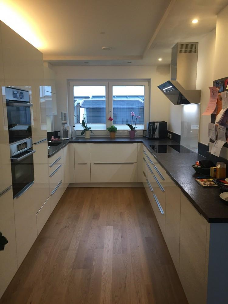 Schöne Küchen  Schöne neue Küche im neuen Haus Häcker Fertiggestellte Küchen