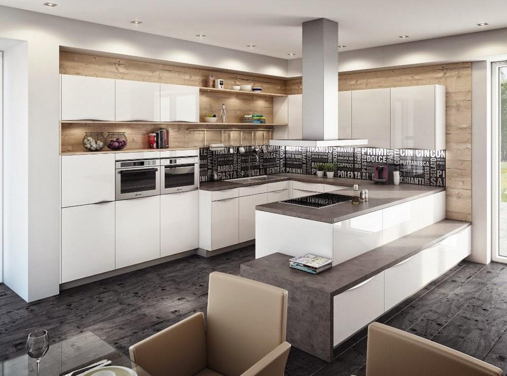 Schöne Küchen  6 Küchentrends – schöne Küchen für moderne Räume allegretta