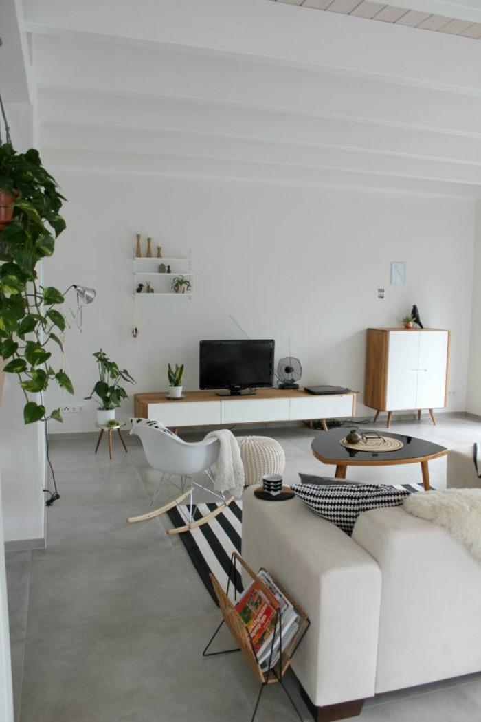 Schöne Wohnzimmer  Bodenfliesen Wohnzimmer Schöne Ideen für den Wohnzimmerboden