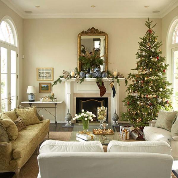 Schöne Wohnzimmer  Schöne Weihnachten Wohnzimmer