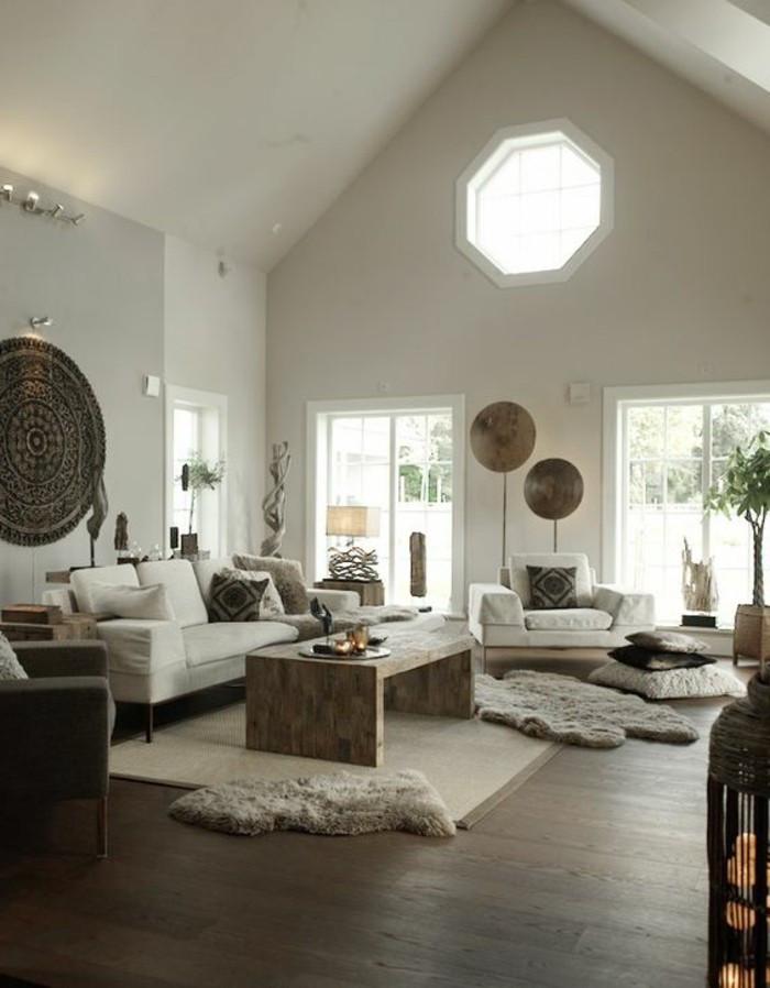 Schöne Wohnzimmer  Einladendes Wohnzimmer dekorieren Ideen und Tipps