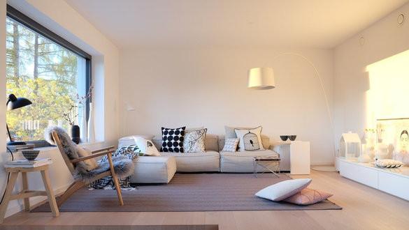 Schöne Wohnzimmer  Modern Wohnen Der moderne Wohnstil