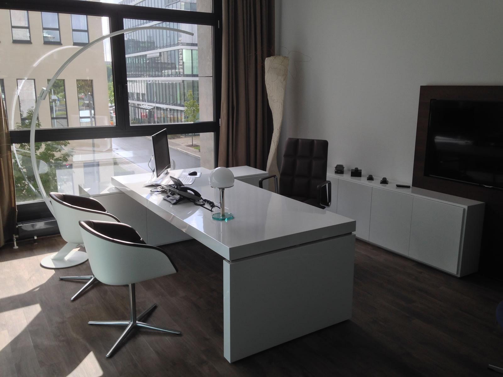 Schreibtisch Design  BÜRO SCHREIBTISCH PRAEFECTUS – moderne Büro Schreibtische