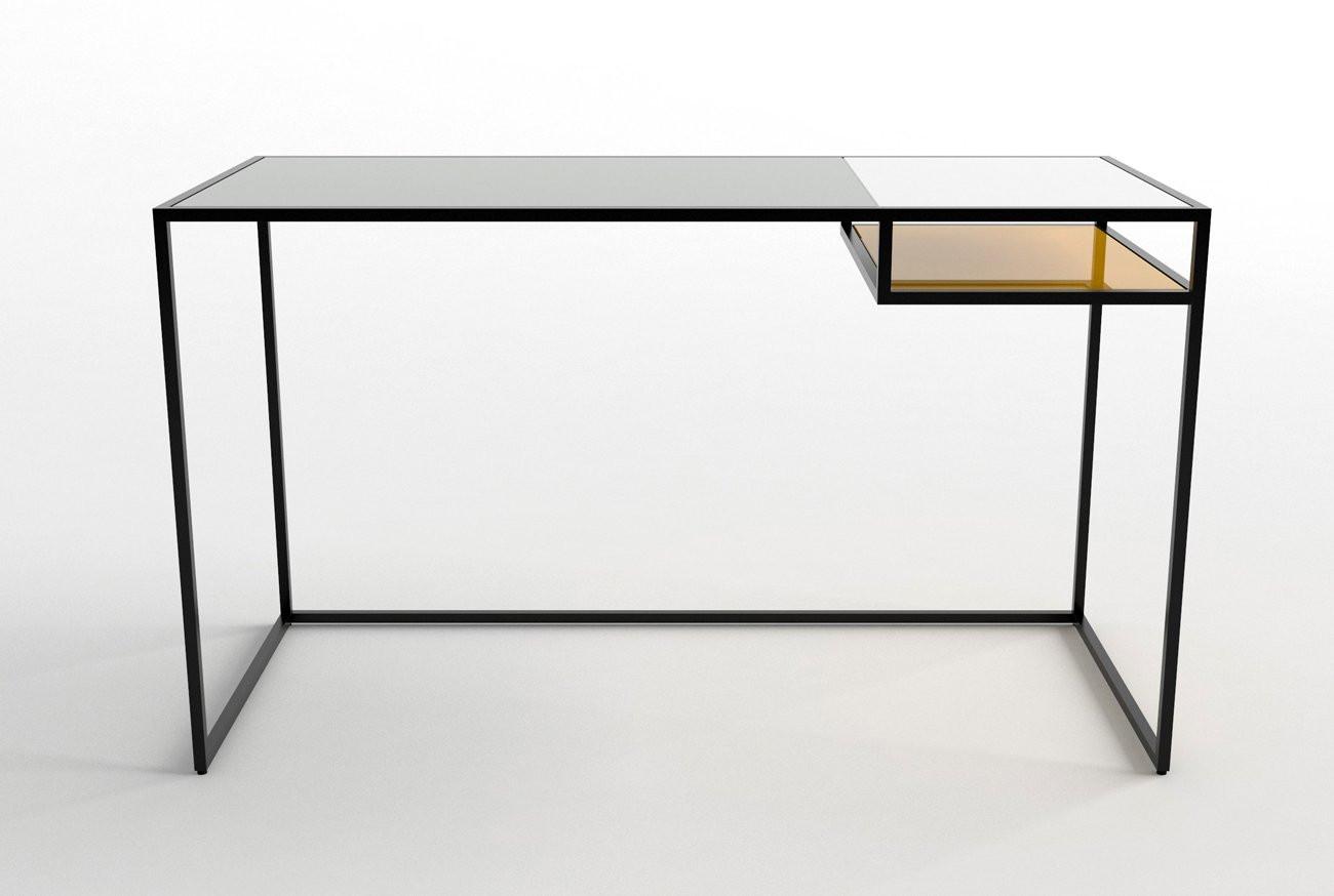 Schreibtisch Design  Schreibtisch in Schwarz Design Ideen