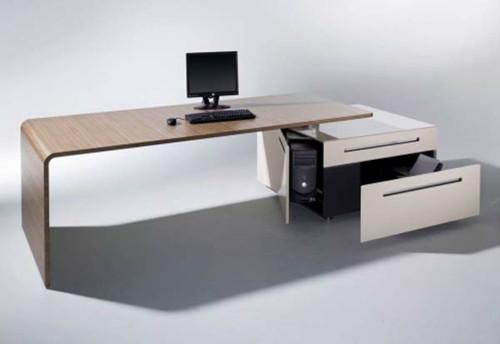 Schreibtisch Design  42 ausgefallene Schreibtische für Ihr Büro