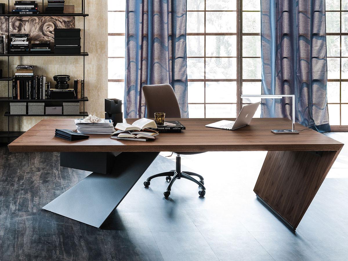 Schreibtisch Design  Cattelan Italia Design Schreibtisch Nasdaq online kaufen