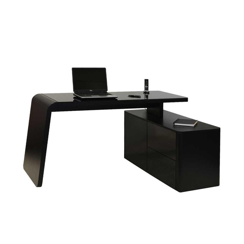 Schreibtisch Schwarz Hochglanz  schreibtisch schwarz hochglanz – Deutsche Dekor 2018