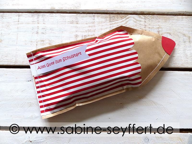 Schulstart Geschenke  DIY Geschenke zum Schulstart pfiffig verpackt genähter