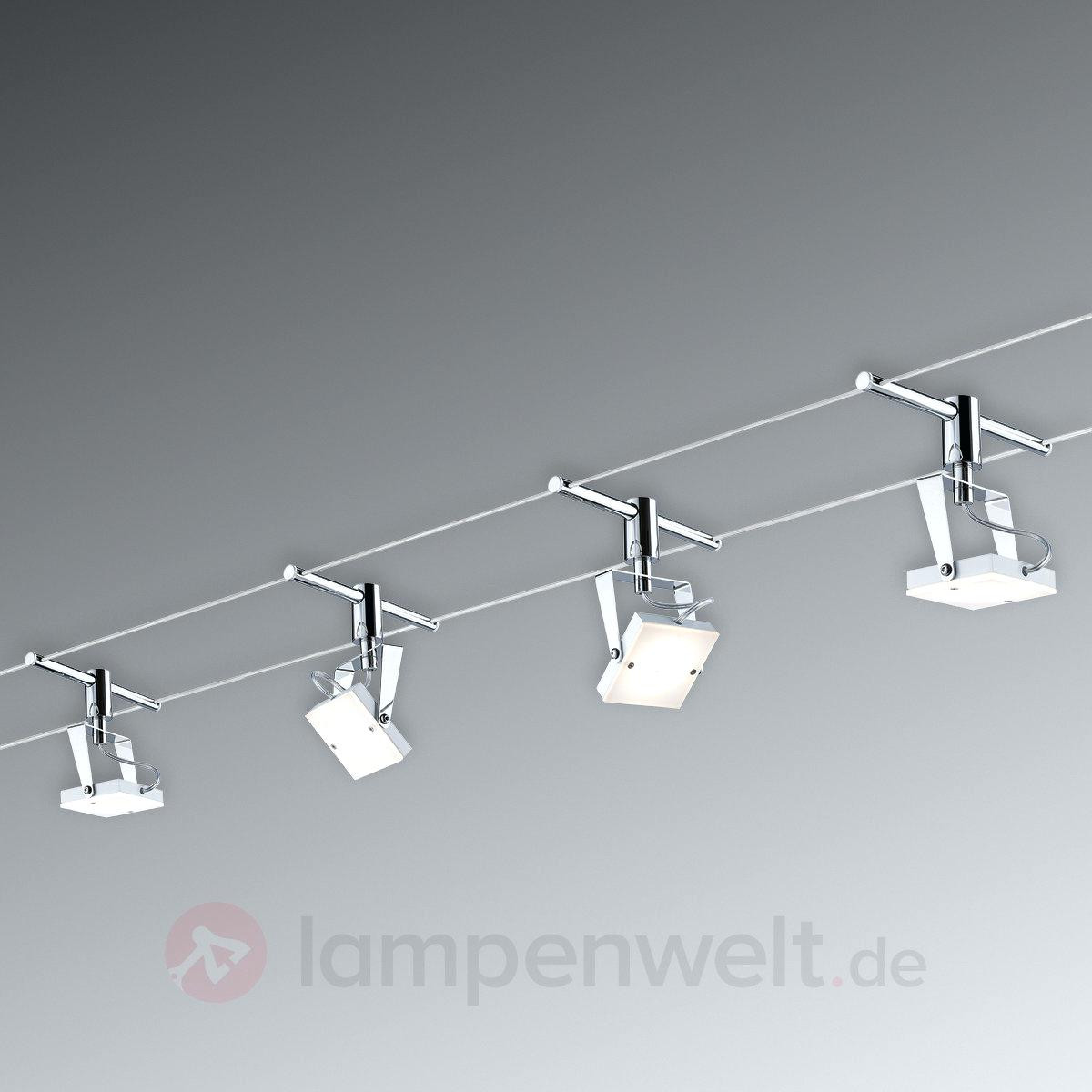 Seilsysteme Beleuchtung  Beleuchtung Seilsystem Led Komplettset Basis Mit
