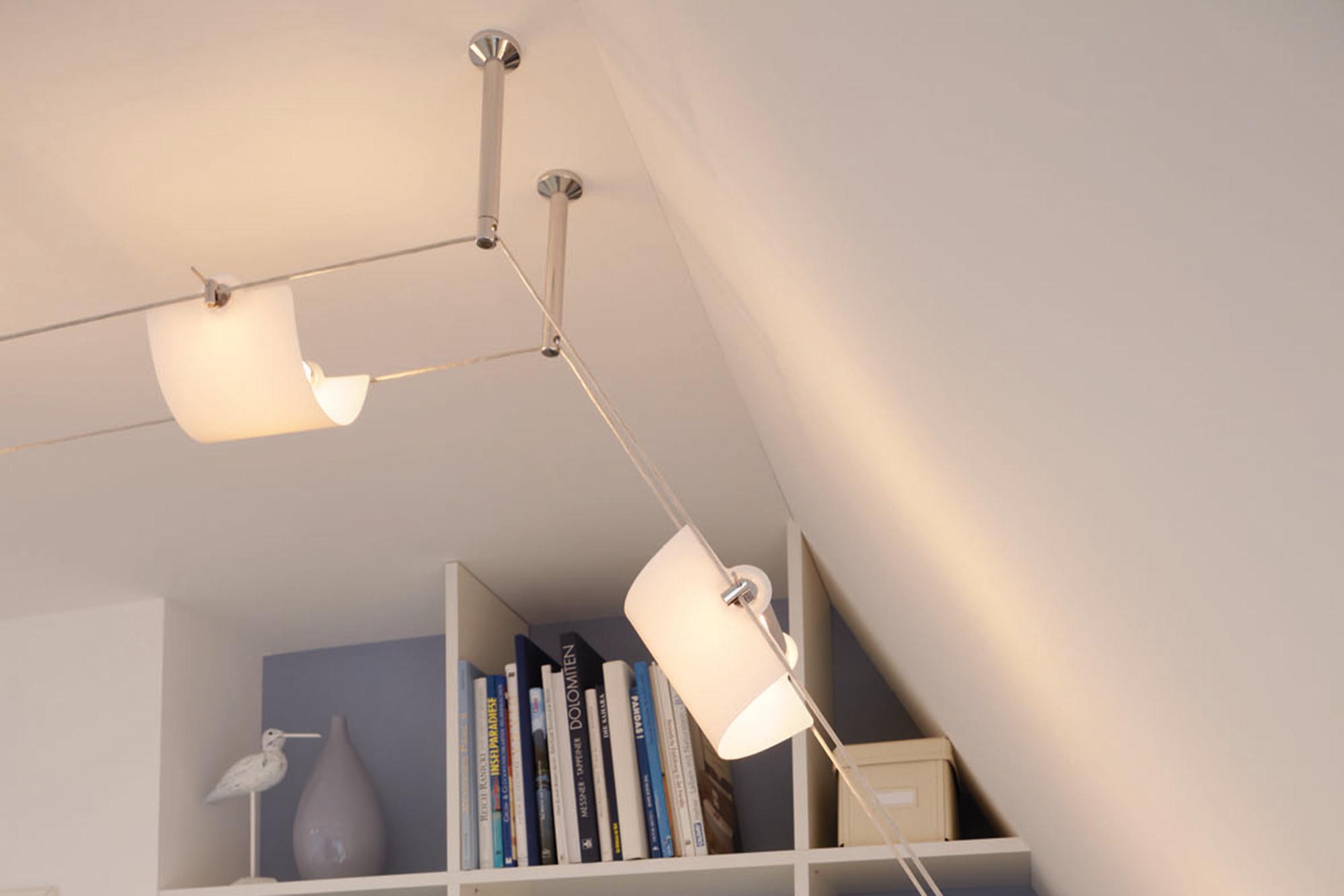Seilsysteme Beleuchtung  Montage Tipp für Paulmann Seilsystem