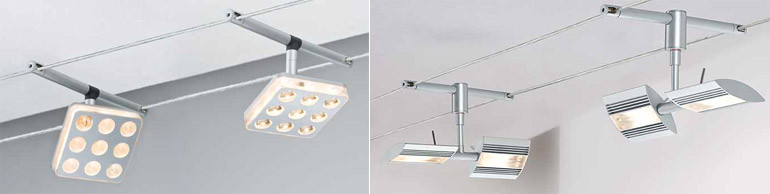 Seilsysteme Beleuchtung  Schönheit Lampen Seilsysteme Led Seilsystem Dimmbar