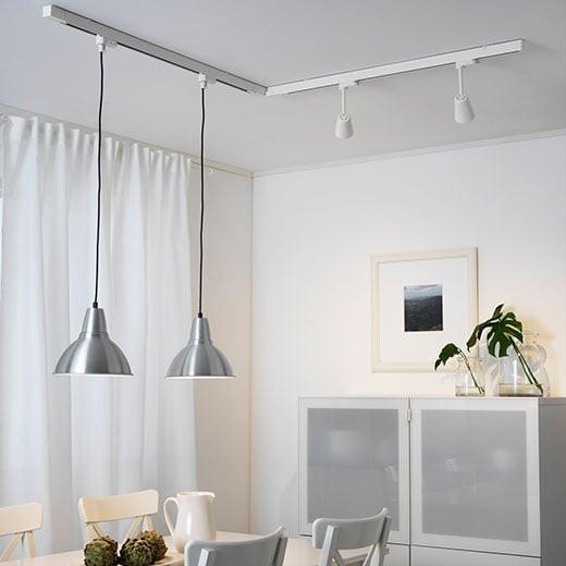 Seilsysteme Beleuchtung  Schienenleuchten praktisch einfach gut IKEA