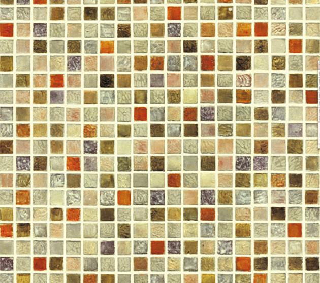 Selbstklebende Fliesen  Tapete selbstklebend Mosaik Fliesen bunt Fliesentapete