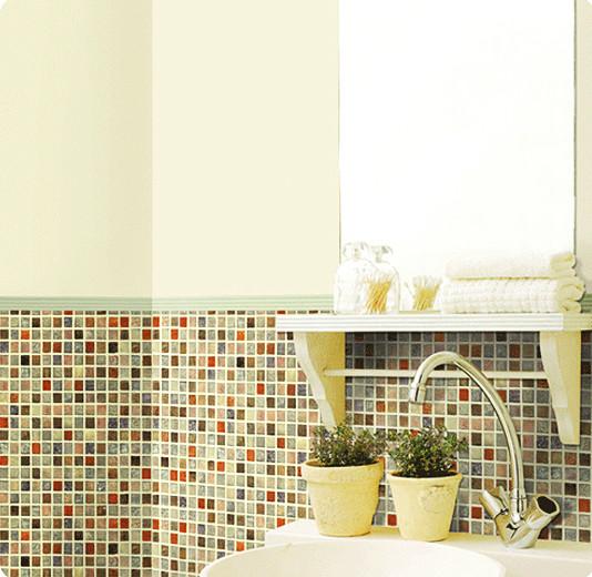 Selbstklebende Fliesen  Hyundae Sheet Tapete selbstklebend Dekofolie Mosaik