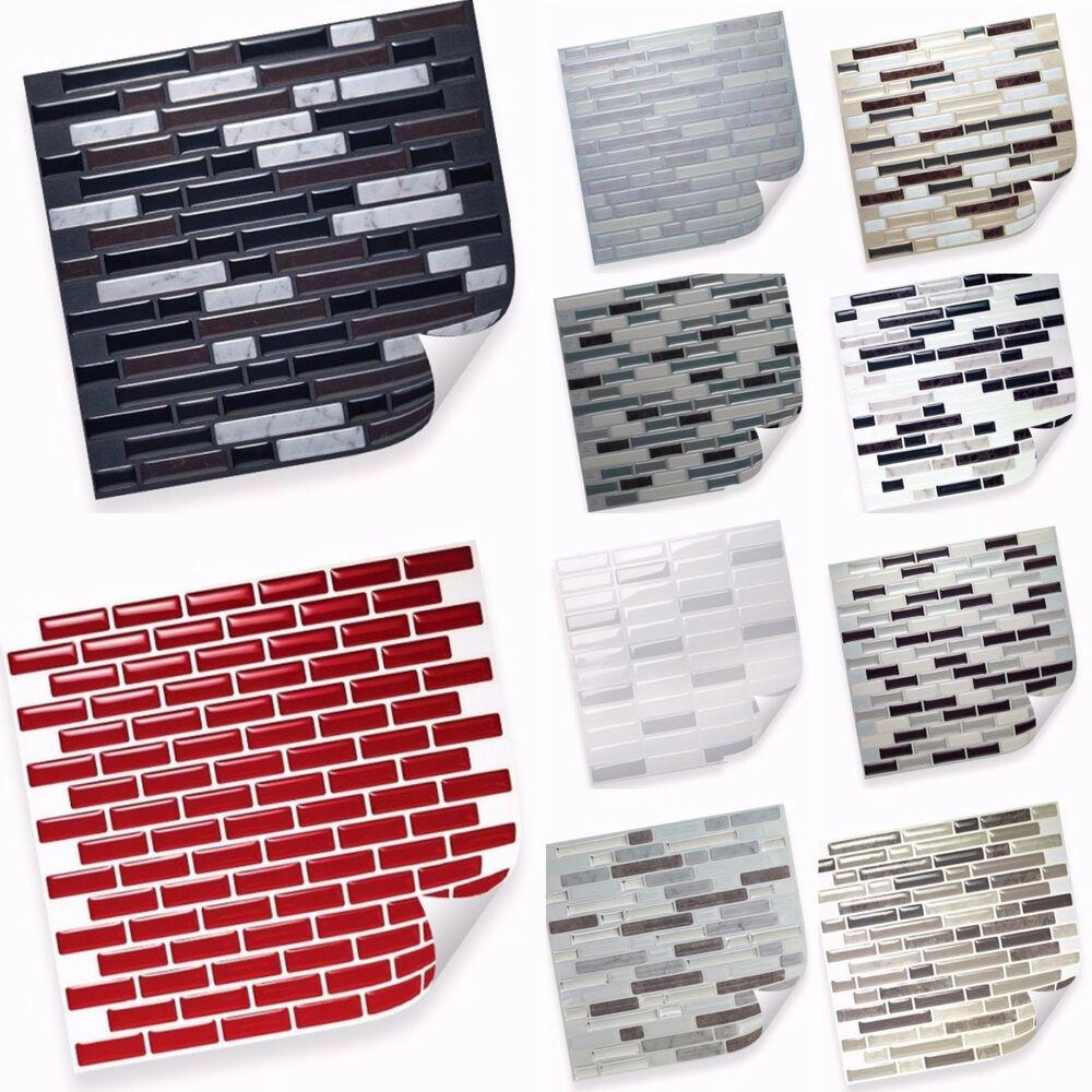 Selbstklebende Fliesen  Selbstklebende Vinyl Mosaik 3D Fliesen Matten zur