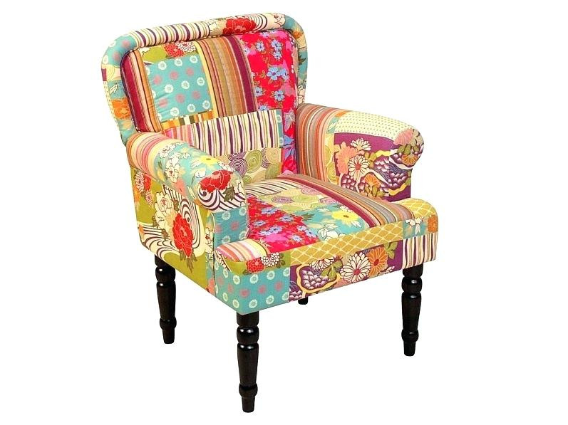 Sessel Bunt  Sessel Bunt E Florence Patchwork Relaxsessel Ohrensessel