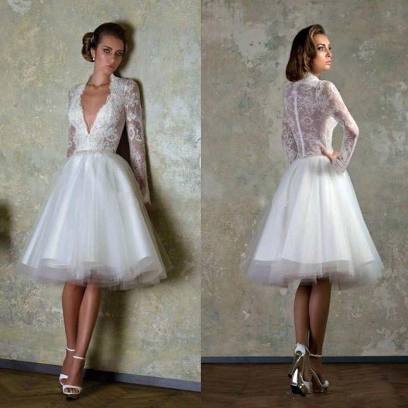 Sexy Hochzeitskleid  Robe de mariee y Bridal Gowns Lace Bodice