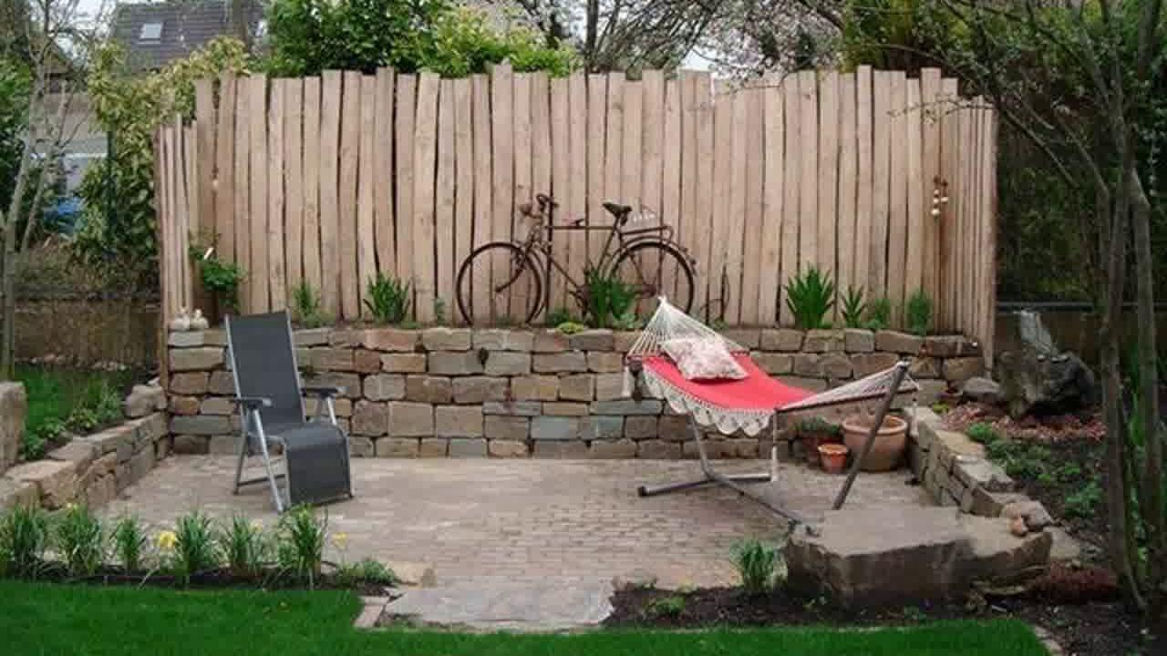 Sichtschutz Im Garten  Sichtschutz Im Kleinen Garten