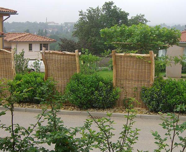 Sichtschutz Im Garten  Selbst gemacht Sichtschutz für den Garten bauen