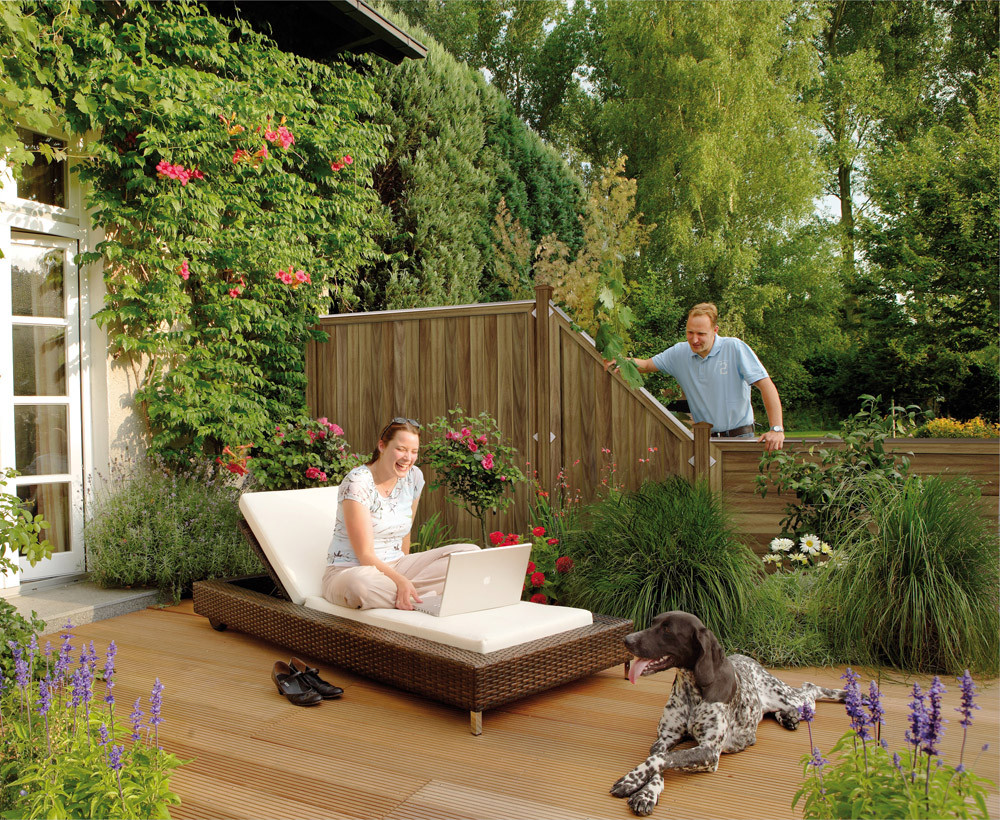 Sichtschutz Im Garten  Sichtschutz im Garten
