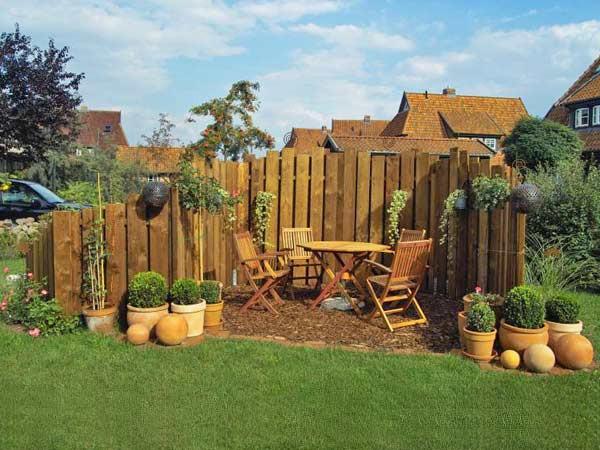 Sichtschutz Im Garten  Sichtschutz für Garten und Balkon