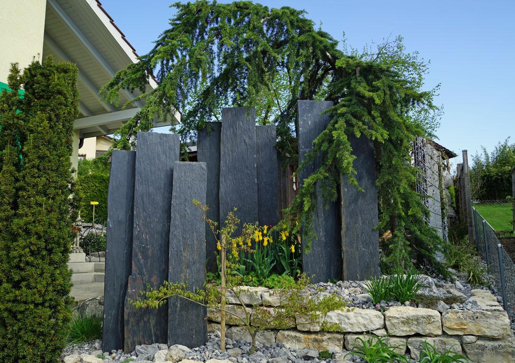 Sichtschutz Im Garten  Sichtschutz im Garten Gärten Armin Hollenstein