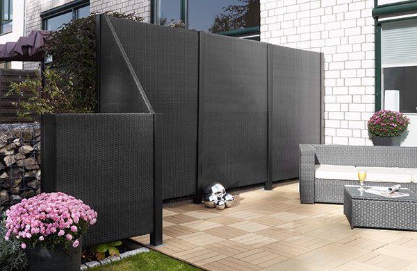 Sichtschutz Terrasse Kunststoff  Sichtschutz aus Kunststoff