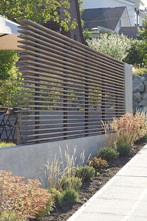 Sichtschutz Terrasse Kunststoff  Sichtschutzzaun Kunststoff Garten