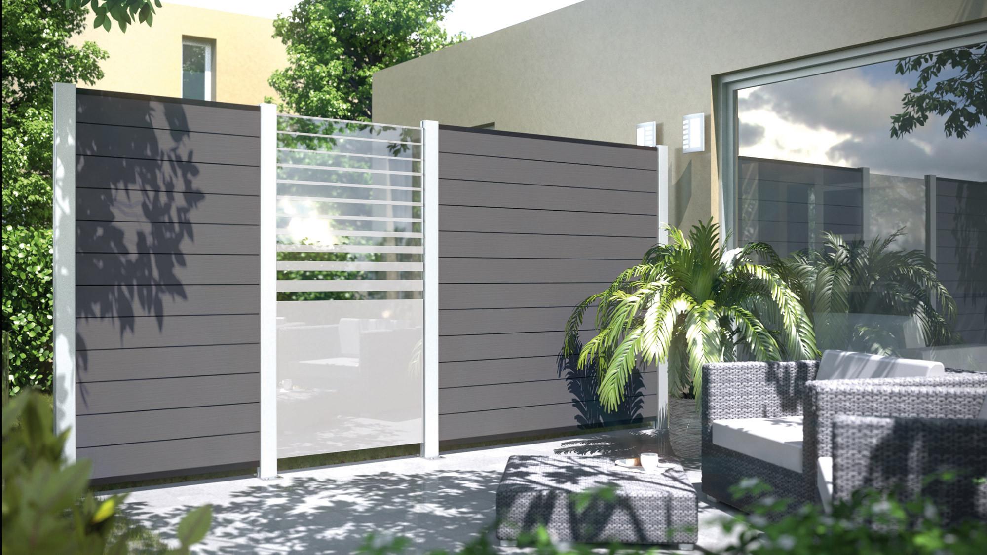 Sichtschutz Terrasse Kunststoff  Sichtschutzzaun Aus Kunststoff