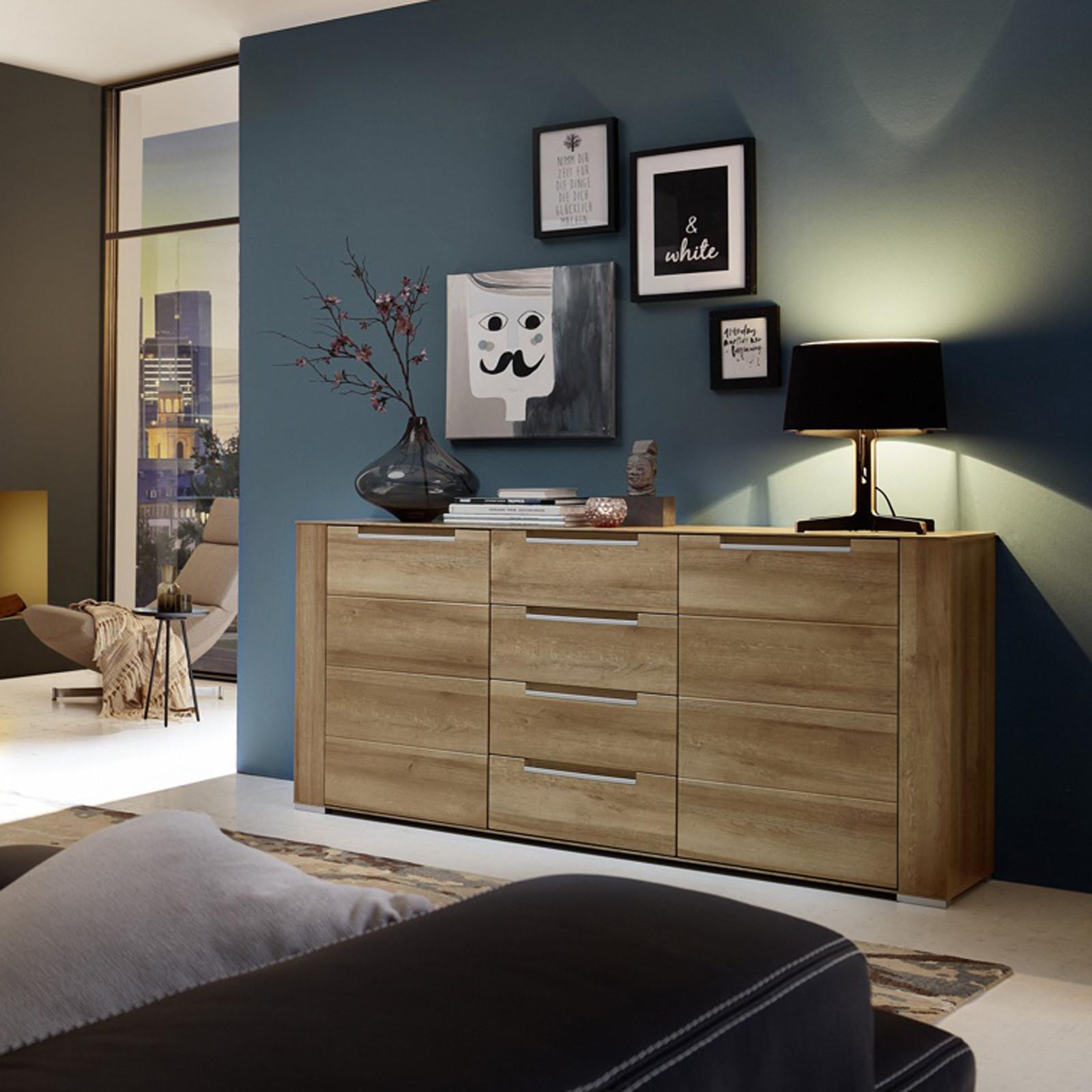 Sideboard Wohnzimmer  Sideboard Dinaro Kommode Anrichte Wohnzimmer Schrank in