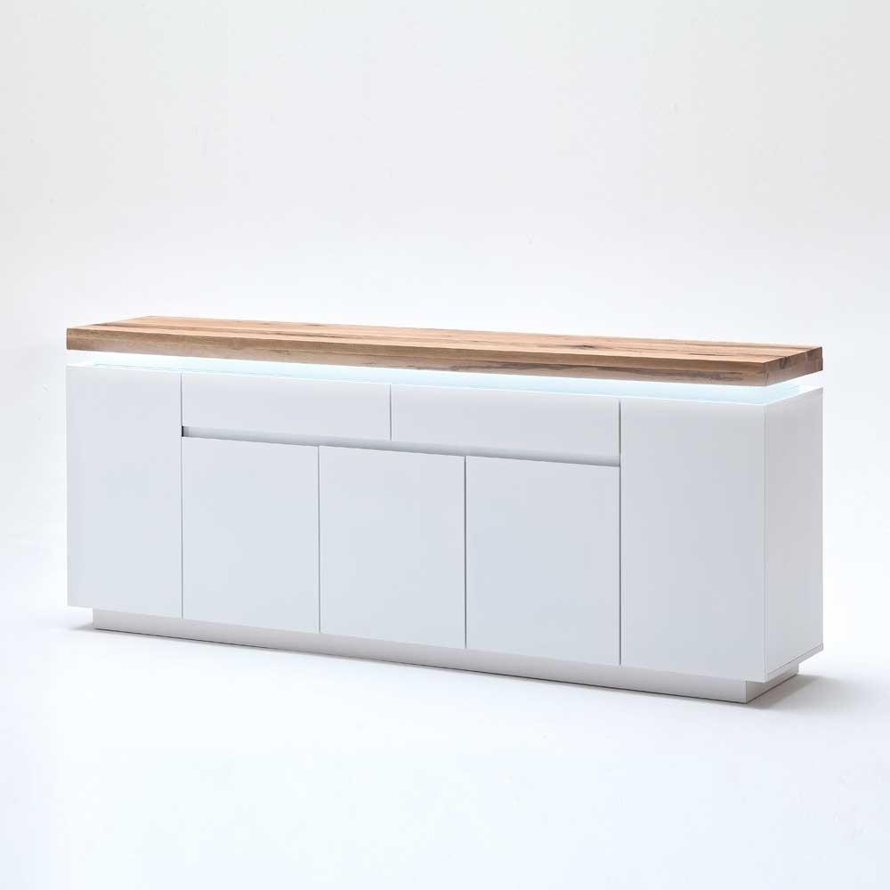 Sideboard Wohnzimmer  Wohnzimmer Sideboard Zelda mit LED Beleuchtung