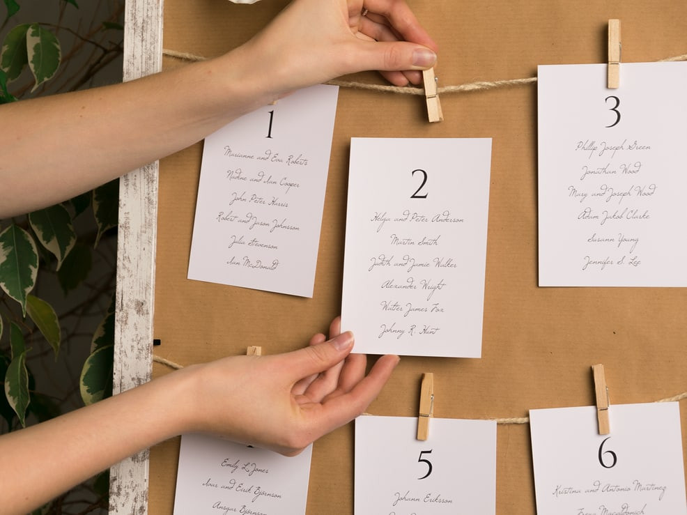 Sitzplan Hochzeit  Der Sitzplan für Hochzeit – Fragen Antworten & Ideen