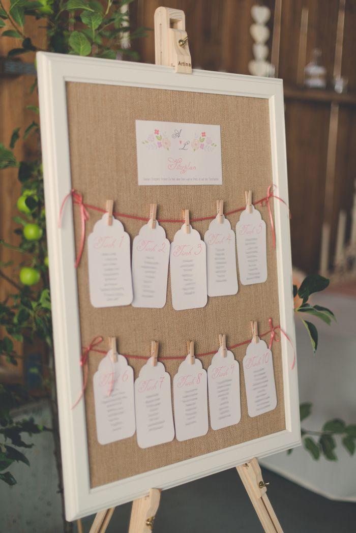 Sitzplan Hochzeit  Die 25 besten Ideen zu Sitzplan hochzeit auf Pinterest