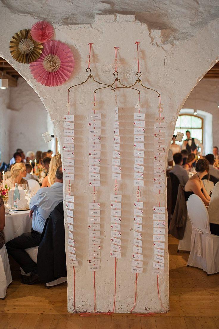 Sitzplan Hochzeit  15 besten Sitzplan Bilder auf Pinterest