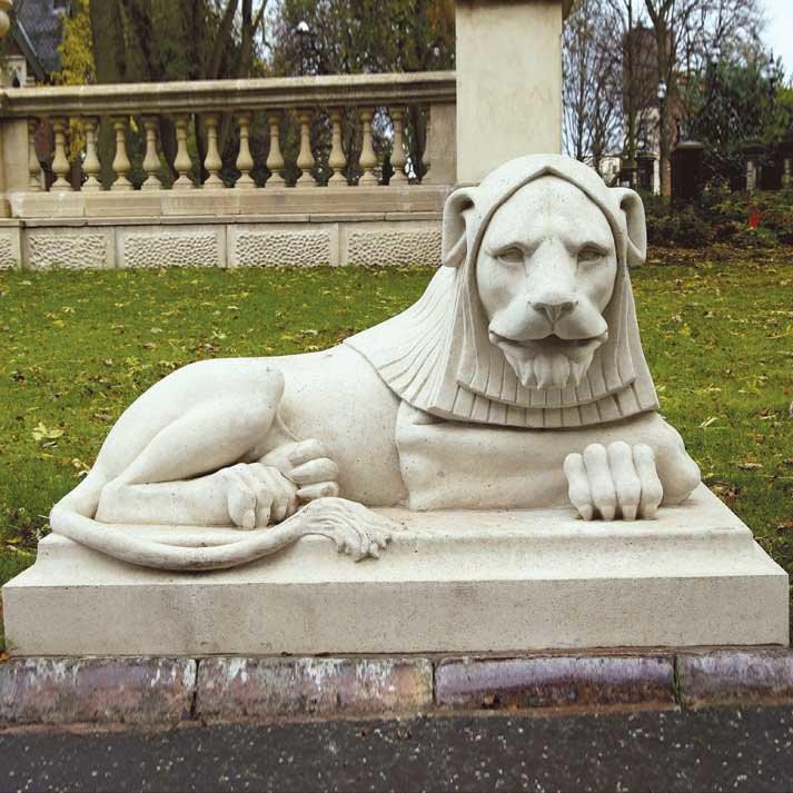 Skulptur Garten  Löwe Skulptur Garten Leazes I • Gartentraum