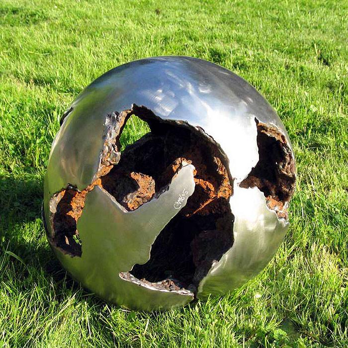 Skulptur Garten  Moderne Skulpturen vom Metall Künstler kaufen
