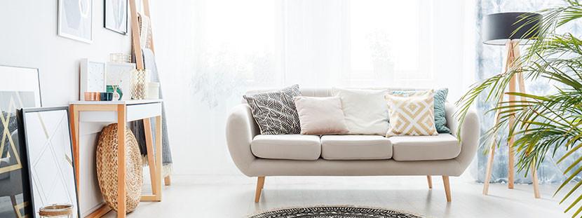 Sofa Reinigen  Sofa reinigen Flecken entfernen mit Natron und Dampf