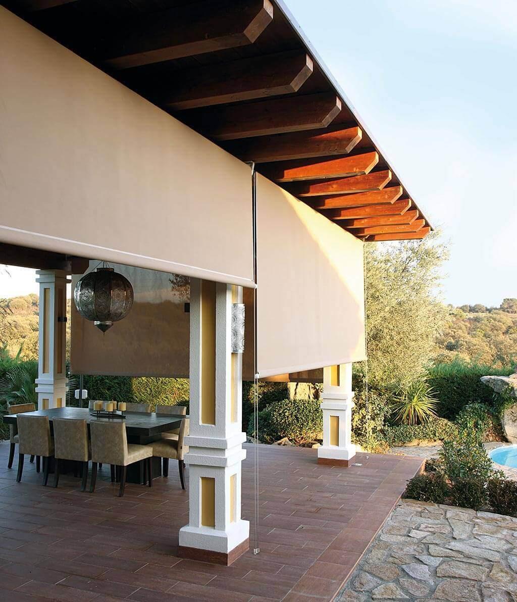 Sonnenschutz Für Terrasse  Sonnenschutz für Ihre Terrasse komfortable Schattenspender