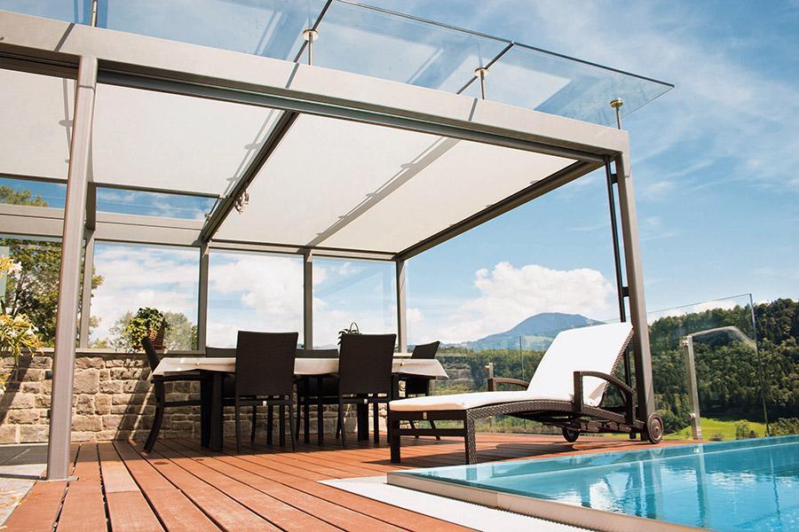 Sonnenschutz Für Terrasse  sonntech sonnenschutz innen & aussen markise