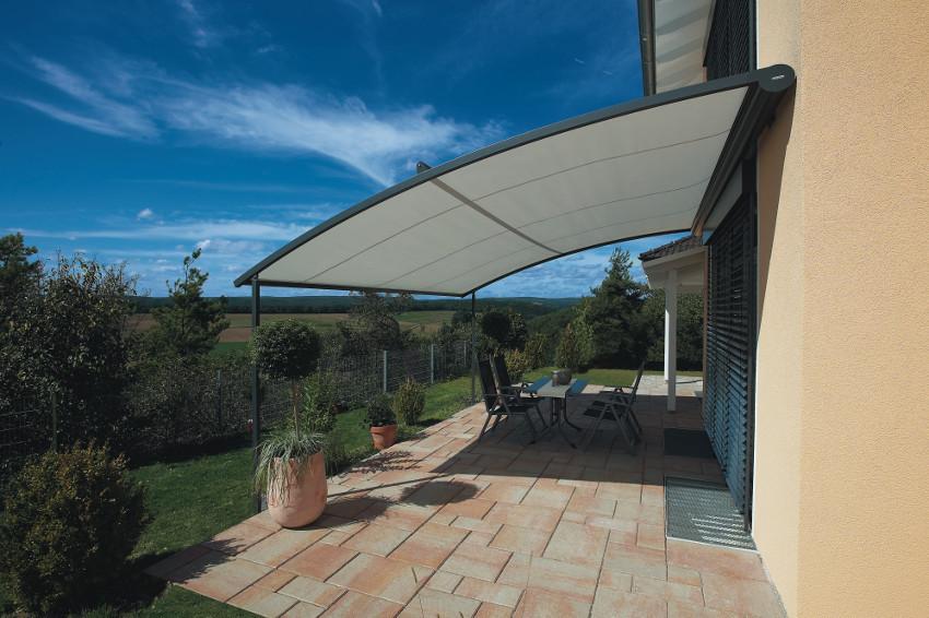 Sonnenschutz Für Terrasse  Sonnenschutz für Terrasse Schattenspender im