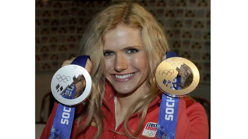 Soukalova Hochzeit  Biathlon Star Gabriela Soukalova hat geheiratet LAOLA1