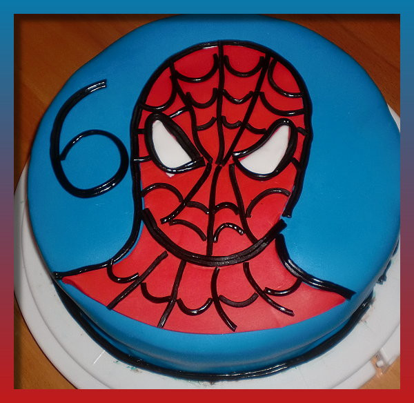 Spiderman Kuchen  spiderman Motivtorten Fotos Forum