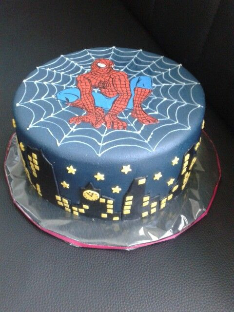 Spiderman Kuchen  Spiderman Torte Sarah in 2019