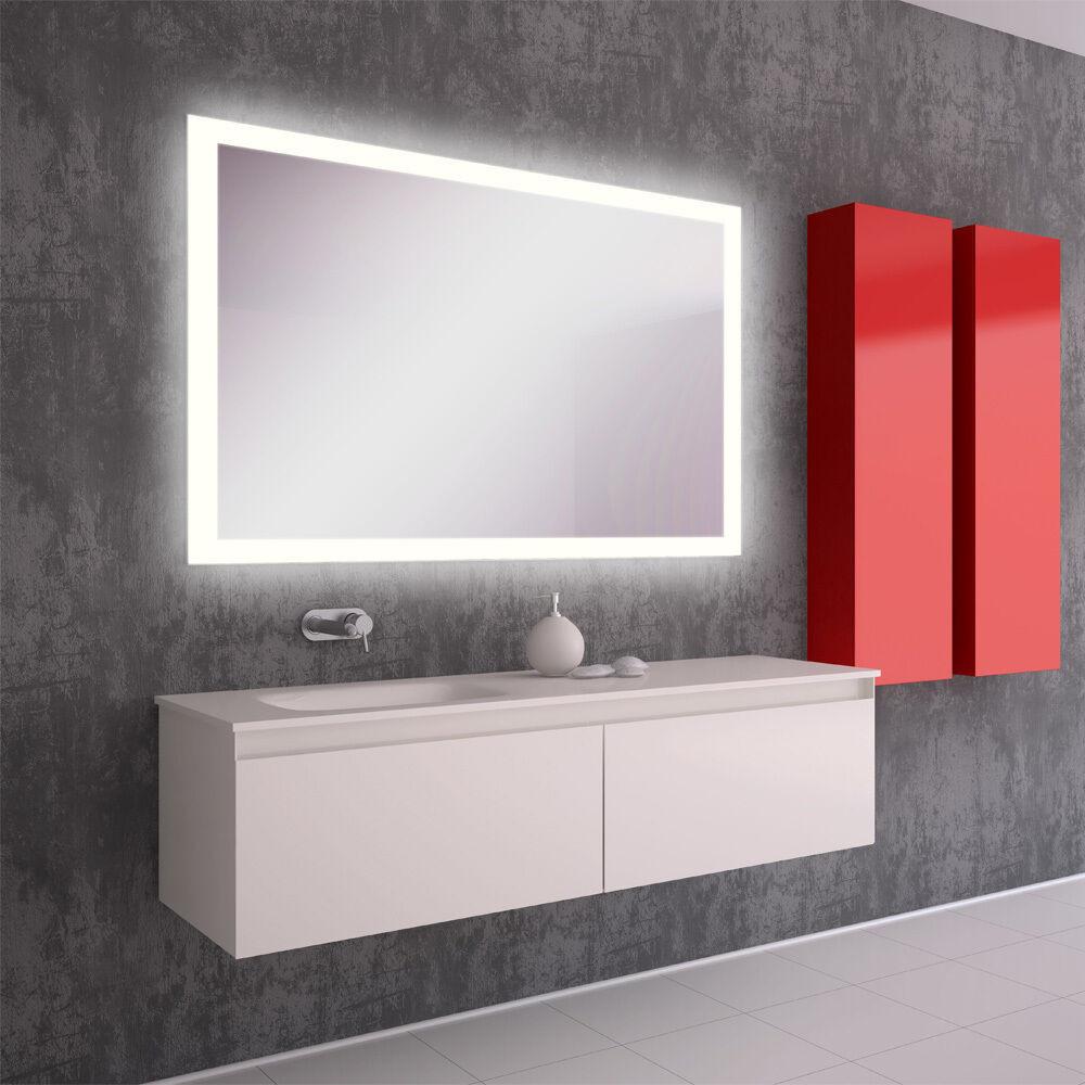 Spiegel Mit Beleuchtung  LED BAD SPIEGEL Badezimmerspiegel mit Beleuchtung