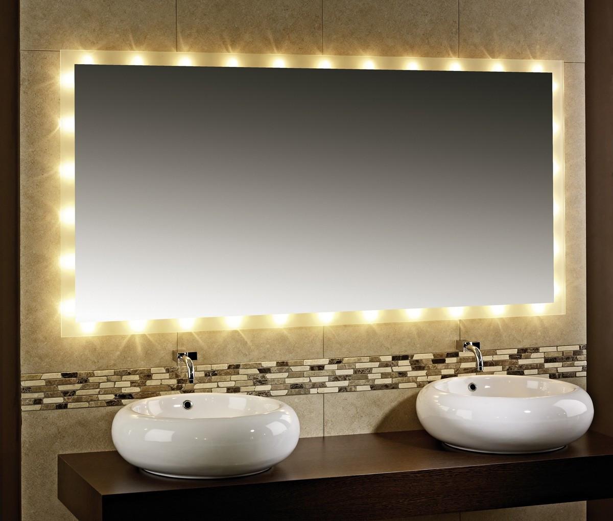 Spiegel Mit Beleuchtung  Badezimmerspiegel mit Beleuchtung Kairo