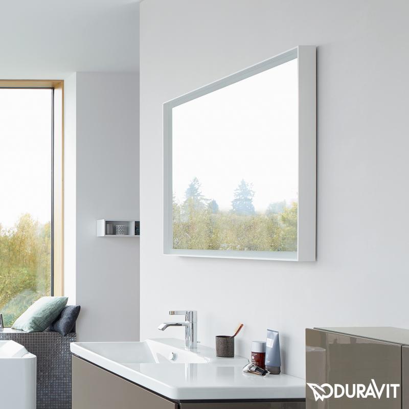 Spiegel Mit Beleuchtung  Duravit L Cube Spiegel mit LED Beleuchtung LC